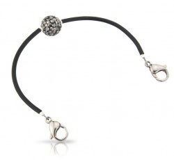Smokey Crystal Shambala Bracelet Only