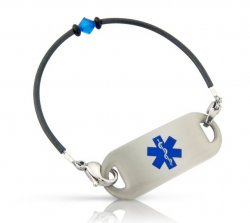 Blue Moon Medical ID Alert Bracelet