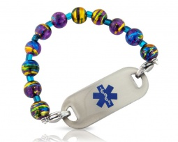 Exotic ICE Medical ID Alert Bracelet