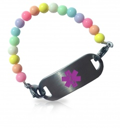 Tutti Fruitti Medical ID Alert Bracelet