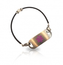 Pearl of Wisdom Medical ID Alert Bracelet