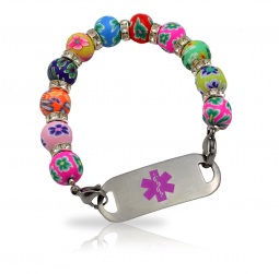 Blossom Medical ID Alert Bracelet