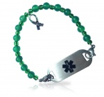 Mental Health Awareness Medical ID Alert Bracelet