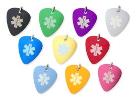 Aluminium Plectrum Medical ID Alert Tags