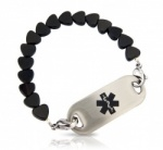 Heart & Soul Medical ID Alert Bracelet