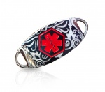 Filigree Style Medical ID Alert Tag